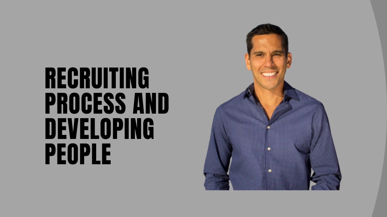 RECRUITING PROCESS DEVELOPING PEOPLE